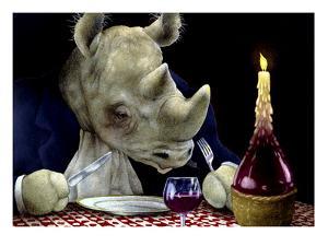 Dine-oceros by Will Bullas