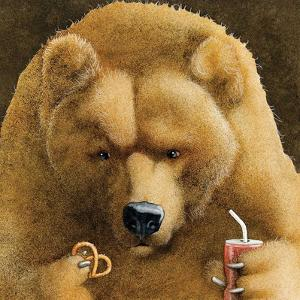 Pretzels & Soda & Bear by Will Bullas