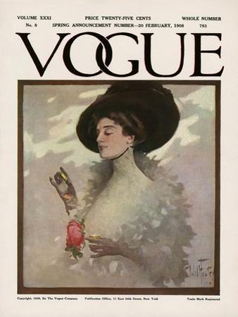 Vogue Cover - February 1908