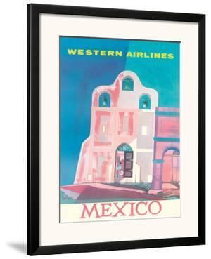 Western Airlines: Mexico, c.1959 by Will Grant