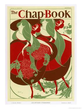 Poster for the Chap Book Usa by Will H. Bradley