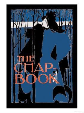 """The Chap Book: """"Blue Lady"""""""""""" by Will H. Bradley"""