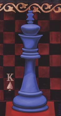 Game Piece - King by Will Rafuse