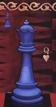 Game Piece - Queen by Will Rafuse
