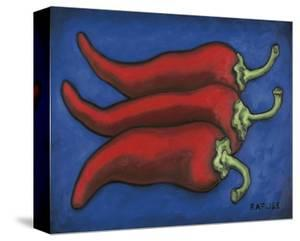 Three Chilli Peppers by Will Rafuse
