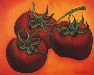 Three Tomatoes by Will Rafuse