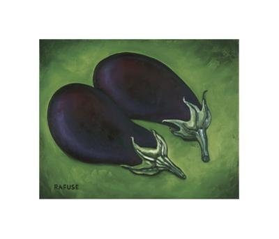 Two Eggplants by Will Rafuse