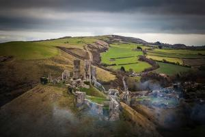 A View from a High Point over Heather and Fields in England by Will Wilkinson