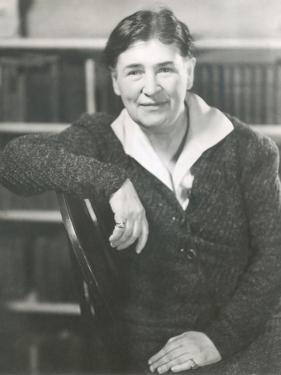 Willa Cather at the Time She Wrote Lucy Gayheart, Photo by Nicholas Muray, ca 1935