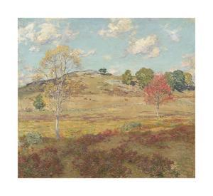 Early Autumn by Willard Leroy Metcalf