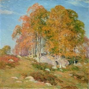 Early October, 1906 by Willard Leroy Metcalf