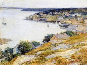 East Boothbay Harbor, 1904 by Willard Leroy Metcalf
