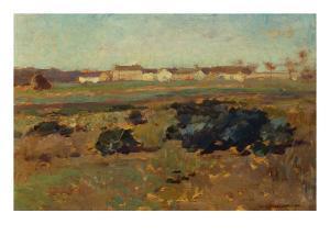 Landscape, 1884 by Willard Leroy Metcalf