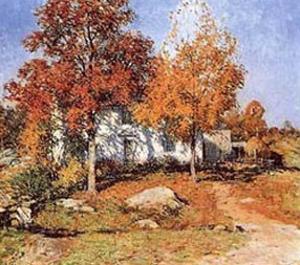 October by Willard Leroy Metcalf