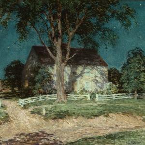 Old Homestead Connecticut, C.1914 by Willard Leroy Metcalf