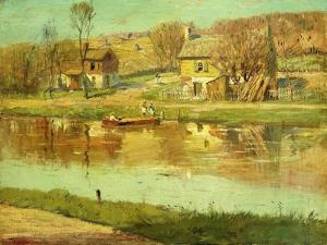 Reflections in the Water, C.1895-1919 by Willard Leroy Metcalf