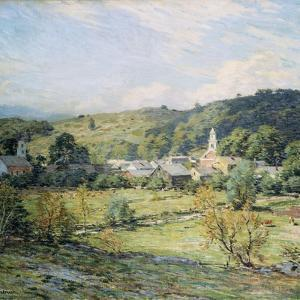 September Morning, Plainfield, New Hampshire by Willard Leroy Metcalf