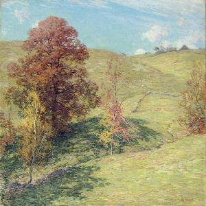The Red Oak (No.2), 1911 by Willard Leroy Metcalf
