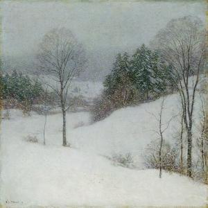 The White Veil, 1909 by Willard Leroy Metcalf