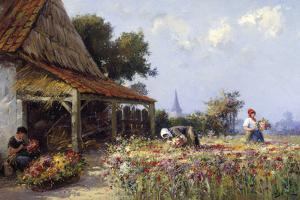 Flowerfield by Willem Bataille