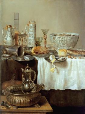 Breakfast Still Life, 1638 by Willem Claesz. Heda