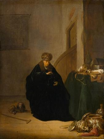 The Gold Weigher, c.1635-1640 by Willem de Poorter