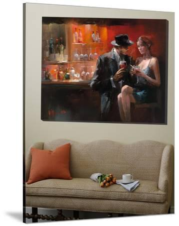 Evening in the Bar I by Willem Haenraets