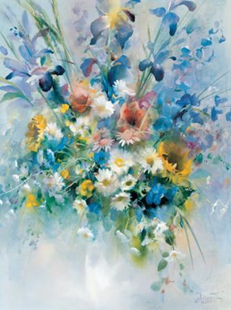 Floral Bouquet 1 by Willem Haenraets