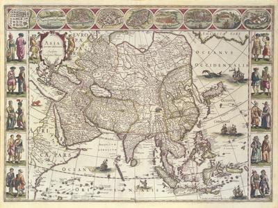 Asia, 1618