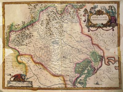 Regionum Italiae, Territory of Treviso, Veneto Region, Italy