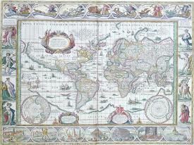 Blaeu World Map.Affordable Willem Janszoon Blaeu Posters For Sale At Allposters Com