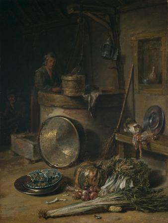 Peasant Interior with Woman at a Well, C.1642–43