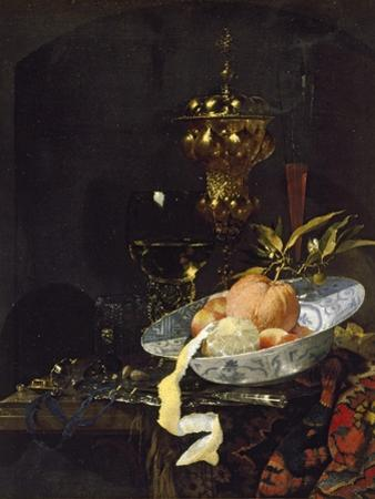 Still Life with an Oriental Rug, Early 1660s