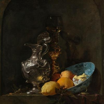 Still Life with Silver Jug, C. 1655-1656