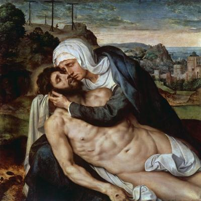 Lamentation over Dead Christ