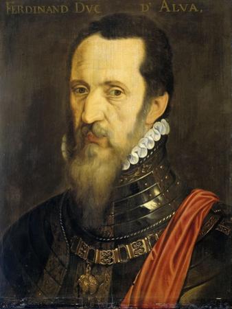 Portrait of Fernando Alvarez De Toledo, Duke of Alba