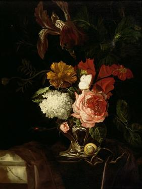 A Rose by Willem van Aelst