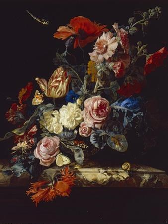A Vase of Flowers, 1663