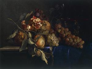 Still Life with Fruit and Objects by Willem van Aelst