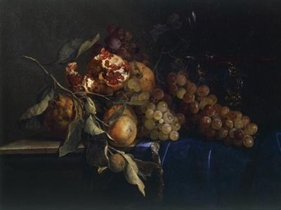 Still Life with Fruit and Objects