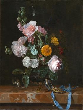 Vanitas Flower Still Life, c.1656-1657 by Willem van Aelst