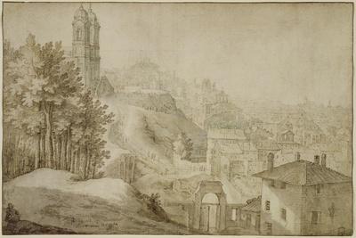 Pd.516-1963 View of Trinita Dei Monti, Rome, 1603