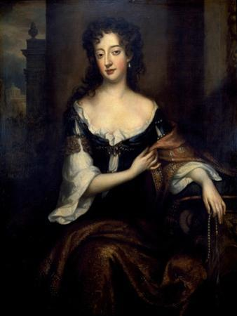 Portrait of Mary Butler, Duchess of Devonshire by Willem Wissing