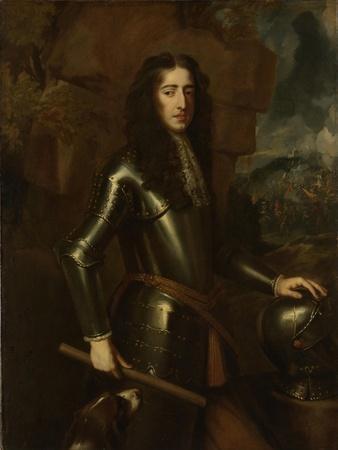 Portrait of William III, Prince of Orange, Stadtholder, after King of England