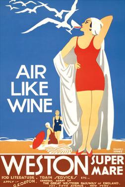 Air Like Wine - Weston Super Mare Railway Station by William A. Sennett