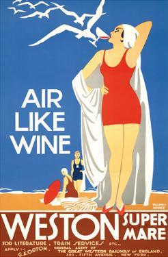 Air Like Wine - Weston Super Mare Railway Station by William A. Sennett