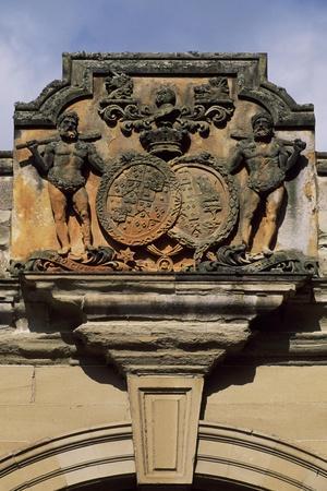 Crest, Decorative Detail from Floors Castle