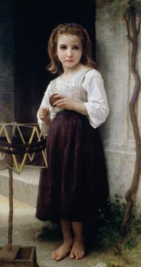 Child with a Ball of Wool by William Adolphe Bouguereau