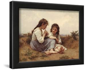 Childhood Idyll by William Adolphe Bouguereau
