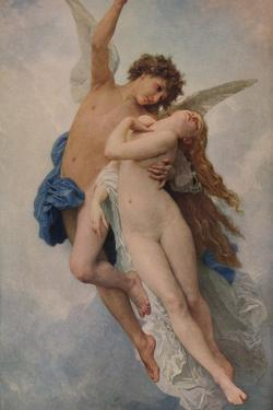 'Cupid and Psyche', 1889, (1938) by William-Adolphe Bouguereau